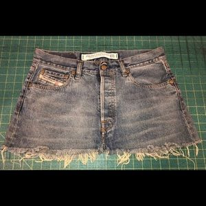 Diesel mini skirt size 32